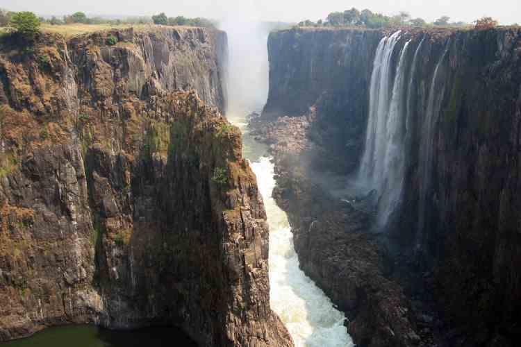Водопады Африки-3