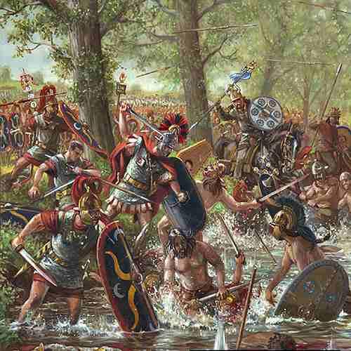 Цезарь. Галльская война