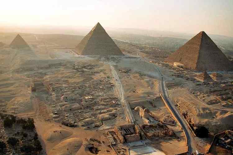 Комплекс пирамид в Гизе