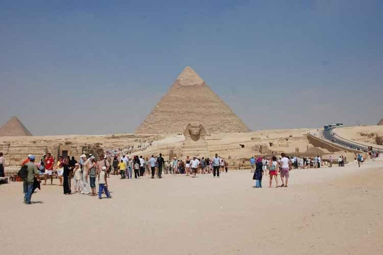 Пирамиды Египта, туризм