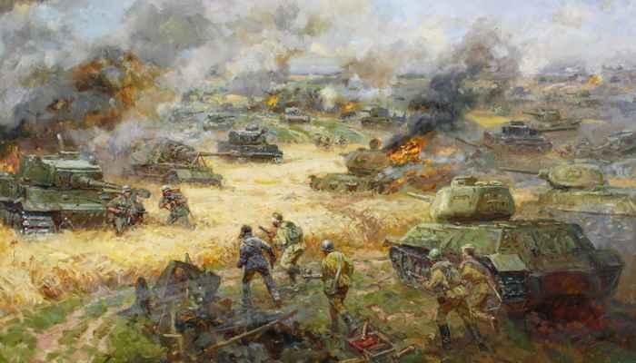 Танковое сражение под Прохоровкой-5