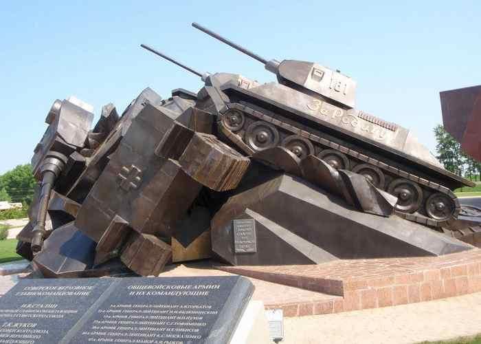 Танковое сражение под Прохоровкой, памятник