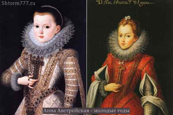 Анна Австрийская. Королева Франции-1