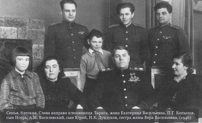 Василевский Александр Михайлович. Биография маршала