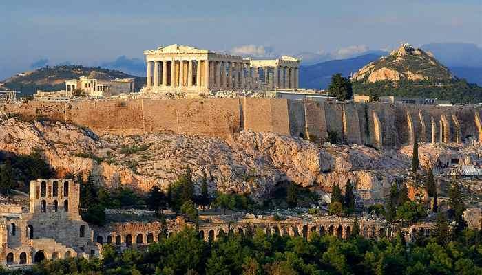 Акрополь в Афинах-3