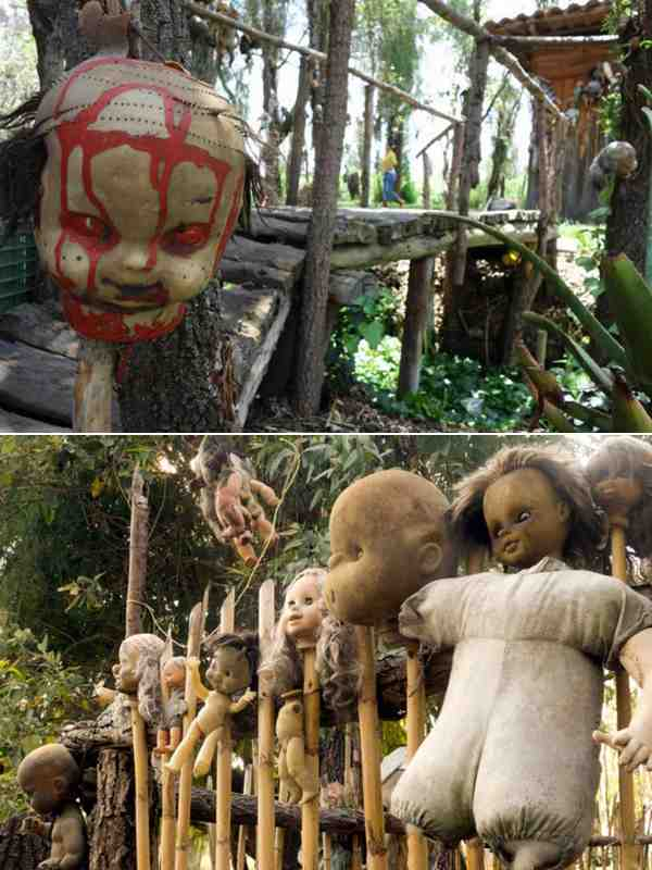 Остров кукол Мексика-3