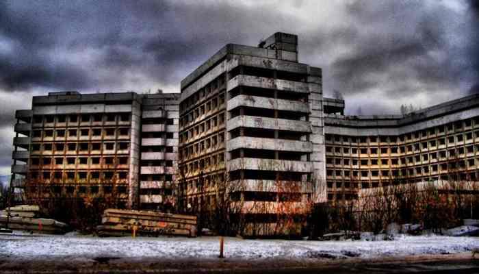 Ховринская заброшенная больница-2