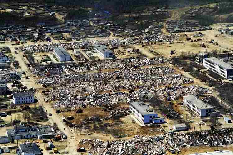 Землетрясение в Нефтегорске-1