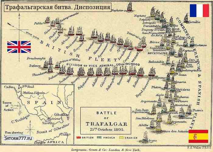 Трафальгарская битва-1