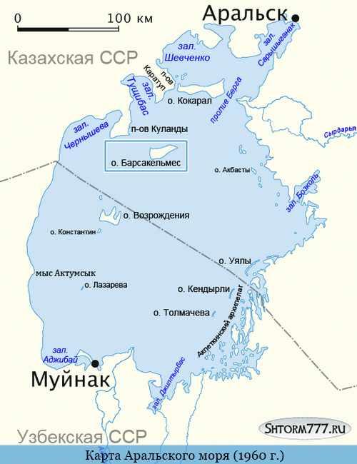 Остров Барсакельмес-2