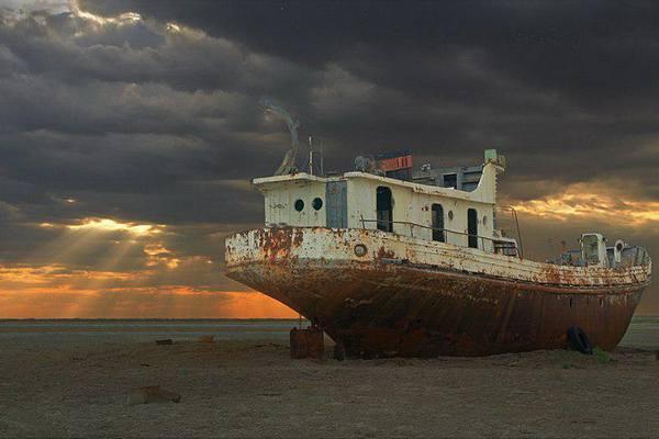 Остров Барсакельмес-3