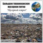 Большое тихоокеанское мусорное пятно (Мусорный остров)