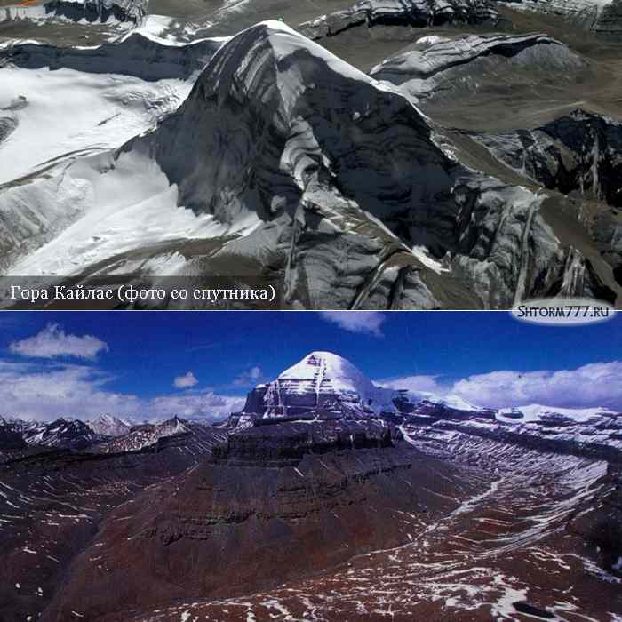 Гора Кайлас в Тибете-1