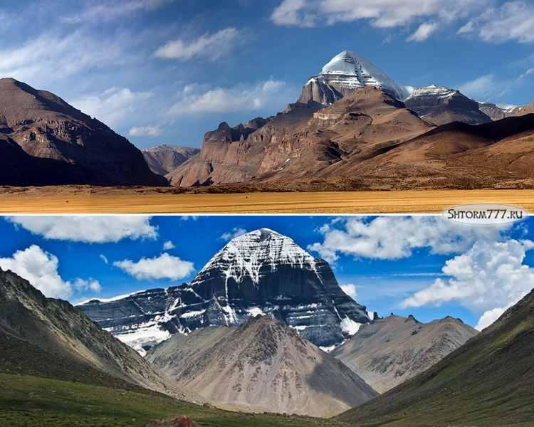 Гора Кайлас в Тибете-2