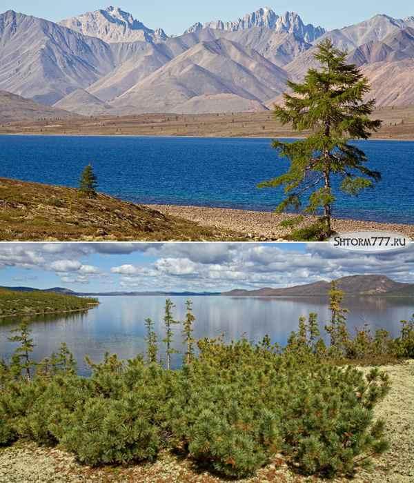 Озеро Лабынкыр в Якутии-1