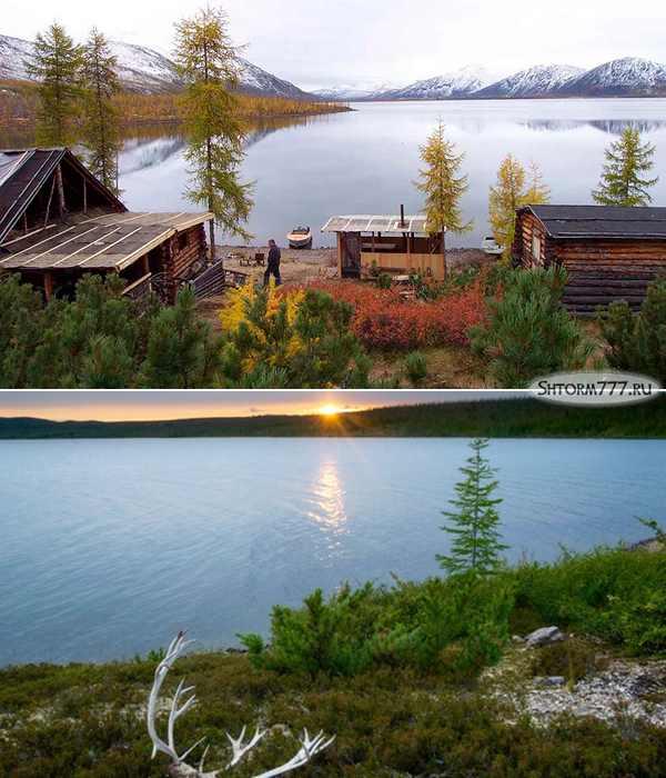 Озеро Лабынкыр в Якутии-2