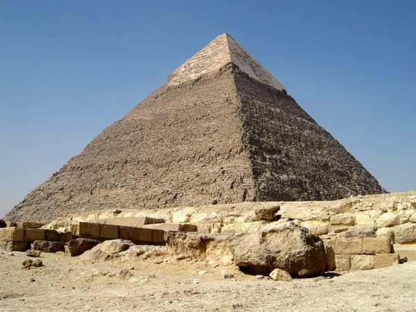 Пирамида Хефрена в Гизе-2