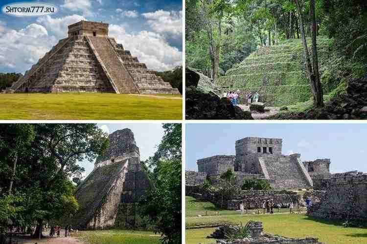 Пирамиды Майя в Мексике-4