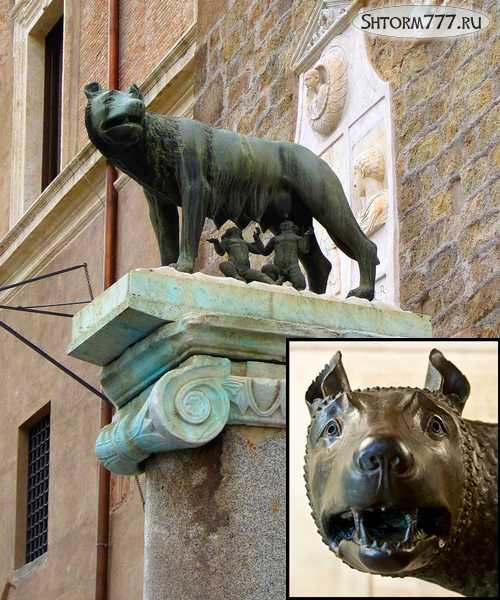 Статуя Капитолийской волчицы-1