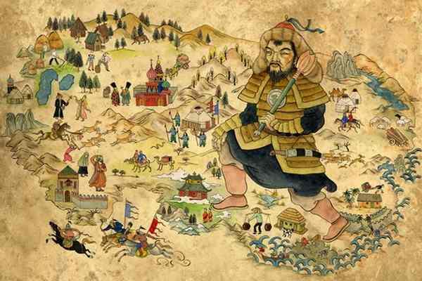 Как умер Чингисхан-4