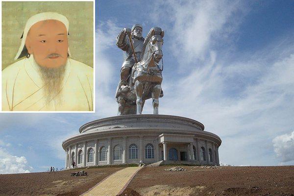 Как умер Чингисхан, памятник