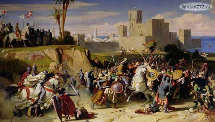 Взятие Иерусалима крестоносцами 1099-(1)