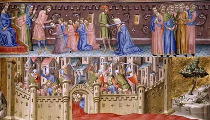 Взятие Иерусалима крестоносцами 1099 (3)