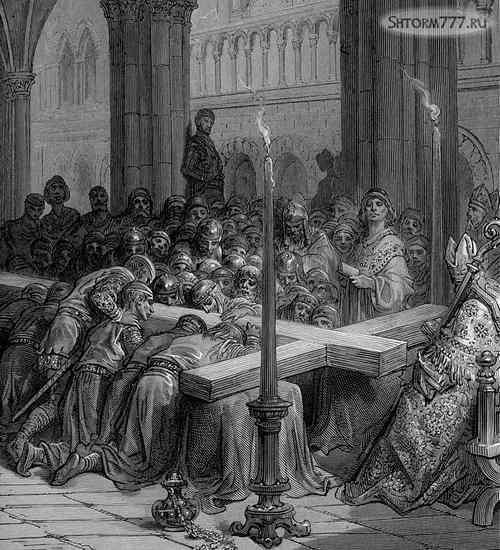Взятие Иерусалима крестоносцами 1099 (4)