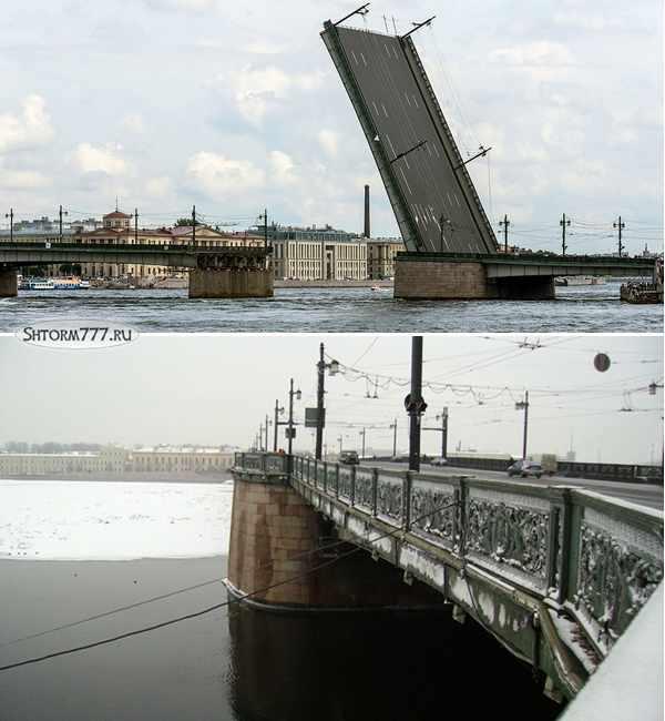 Литейный мост в Санкт-Петербурге-3