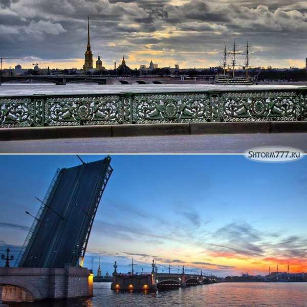 Литейный мост в Санкт-Петербурге-5