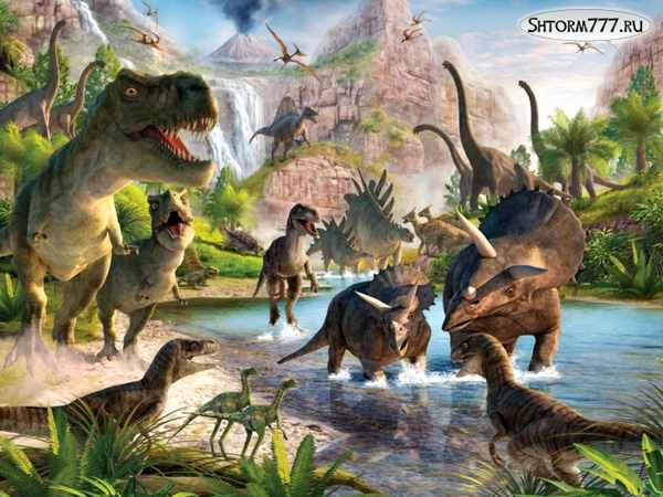 Как вымерли динозавры-1
