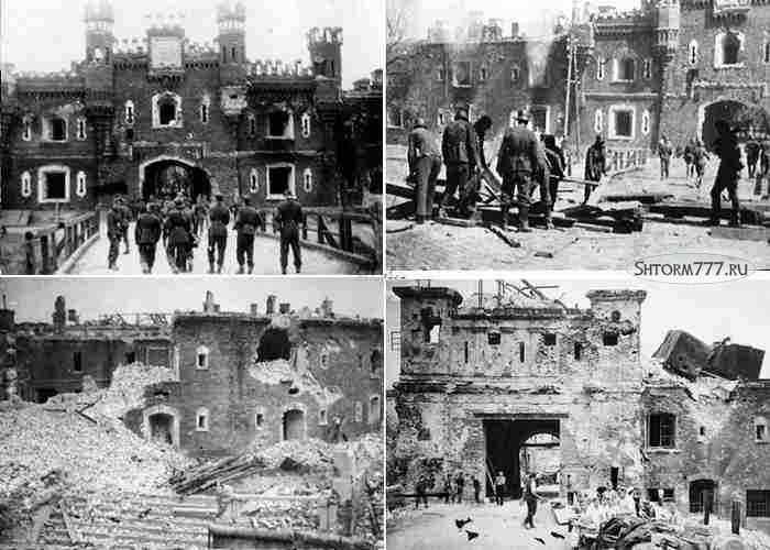 Брестская крепость, Оборона-3