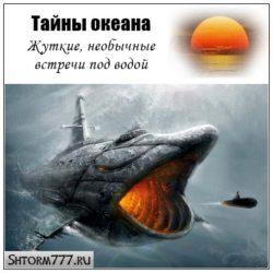 Тайны океана. Жуткие, необычные встречи под водой