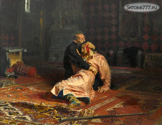 Почему Иван Грозный убил своего сына-1