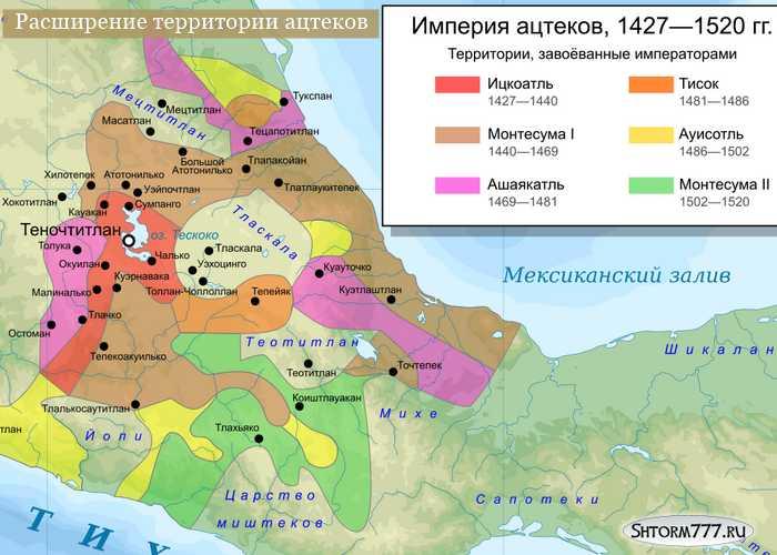 Империя Ацтеков-3