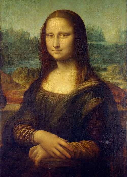 Джоконда Леонардо да Винчи-1
