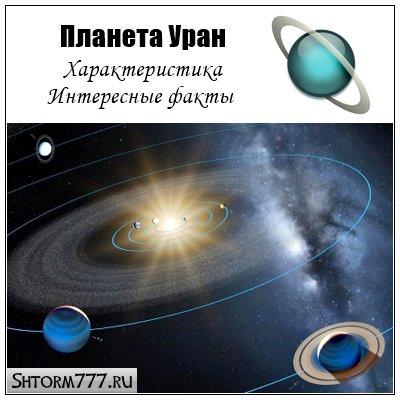 Планета Уран. Характеристика. Интересные факты