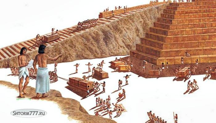 Кто построил египетские пирамиды-1