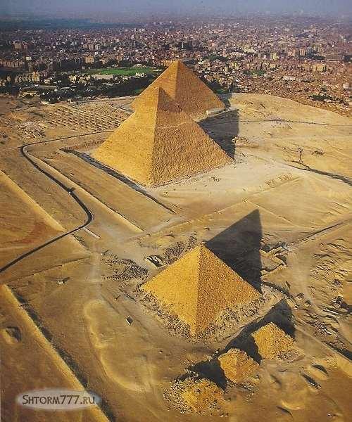 Кто построил египетские пирамиды-2