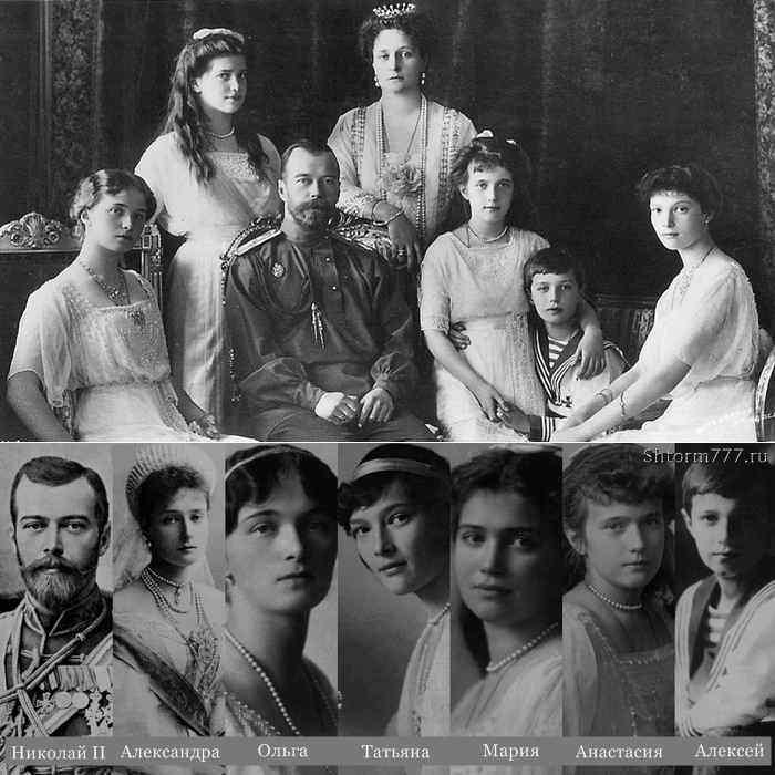 Николай 2 и его семья (2)