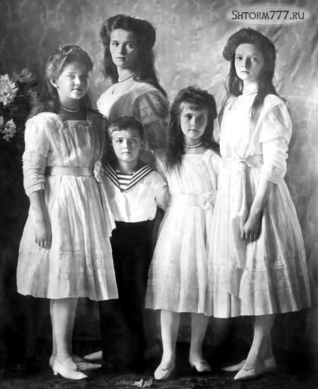 Николай 2 и его семья (4)