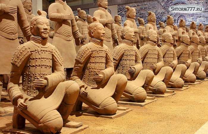 Терракотовая армия Китай-2