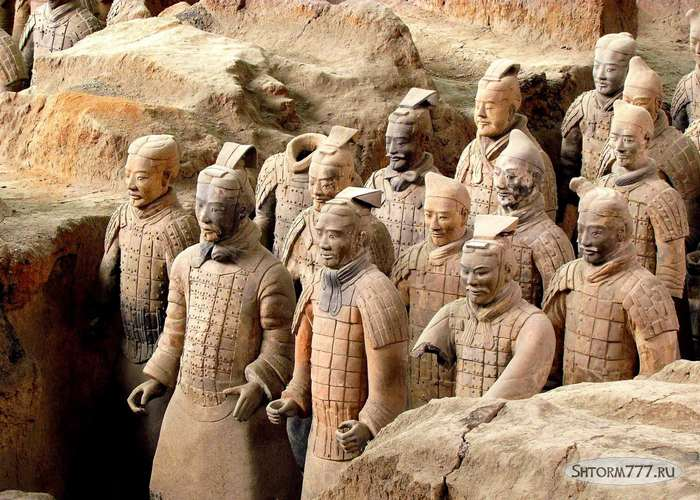 Терракотовая армия Китай-3