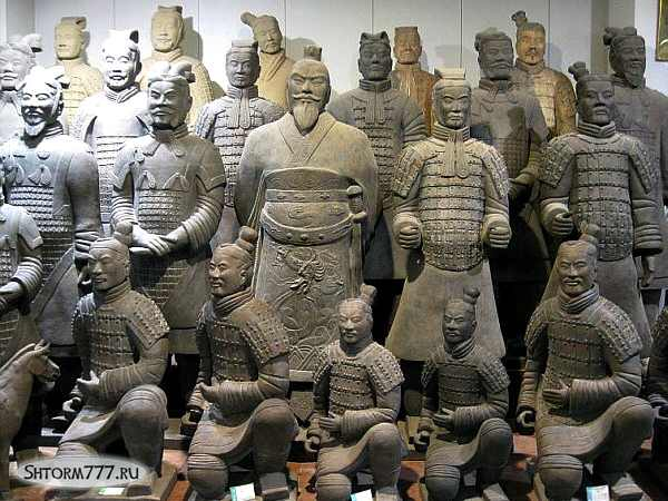 Терракотовая армия Китай-4