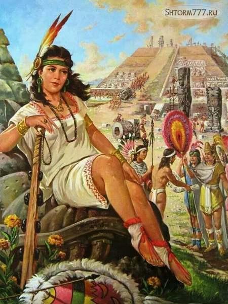 Безжалостная Королева ацтеков-1