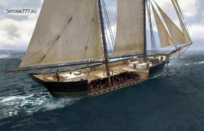 Найден последний корабль работорговцев-1
