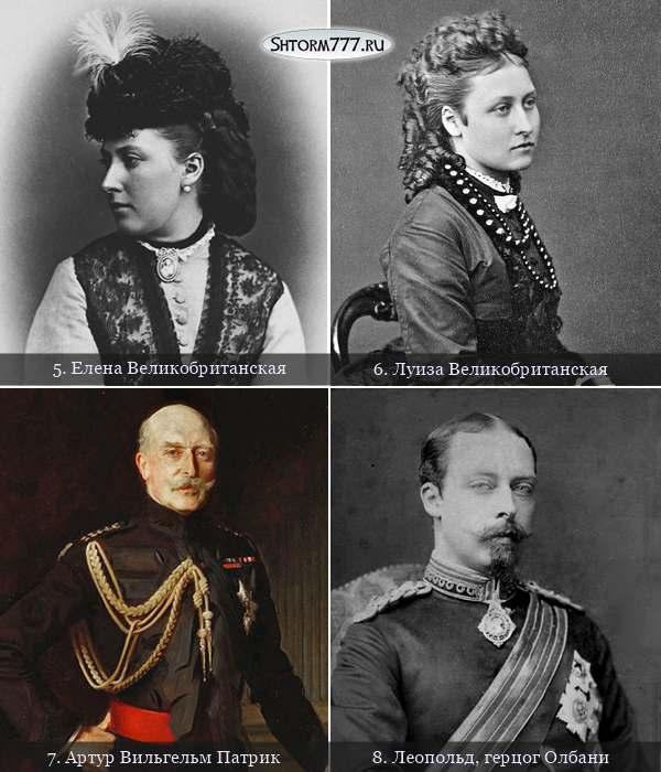 Дети королевы Виктории и принца Альберта-3