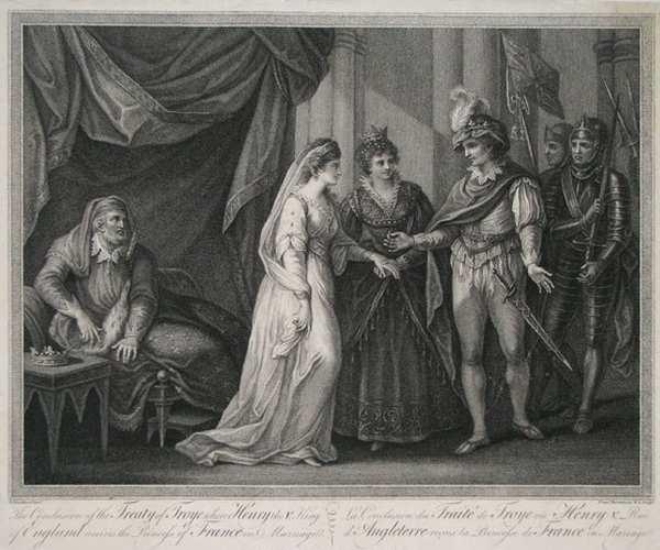 Екатерина Валуа. Английская королева-3