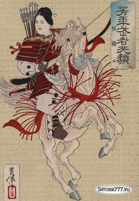 Женщина-самурай-1