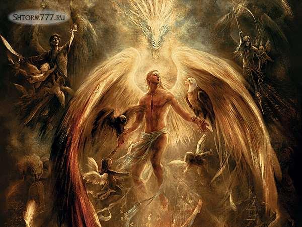 Ангелы, демоны-1